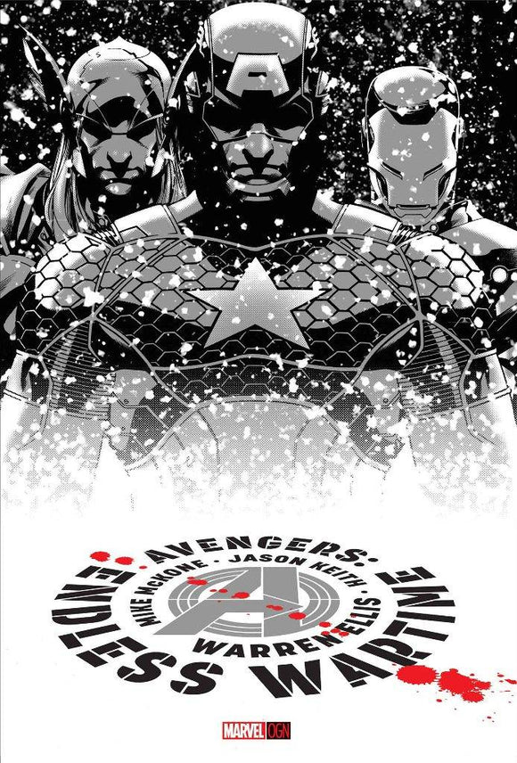 Avengers: Endless Wartime HC, signed by Mike McKone!