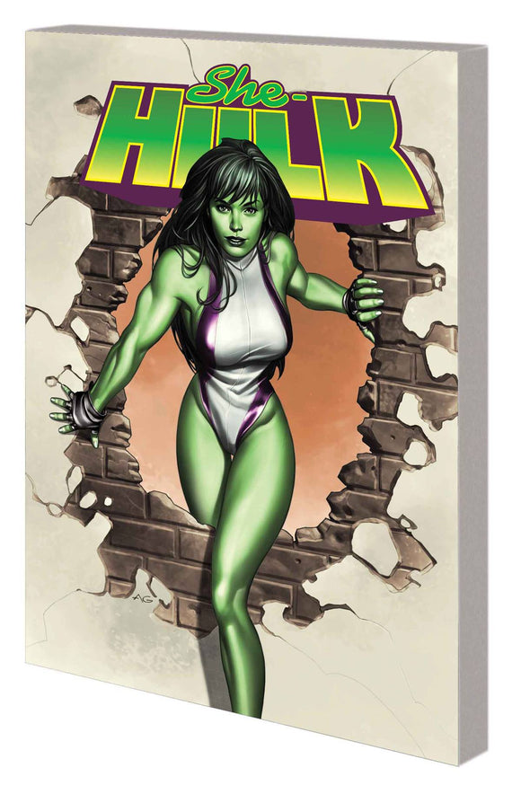 She-Hulk by Slott TP Complete Collection, signed by Dan Slott!