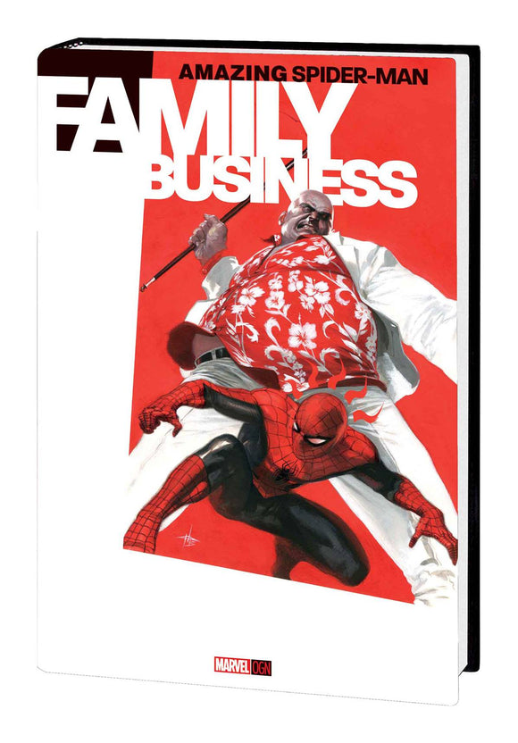 Amazing Spider-Man: Family Business OGN HC, Signed by Mark Waid