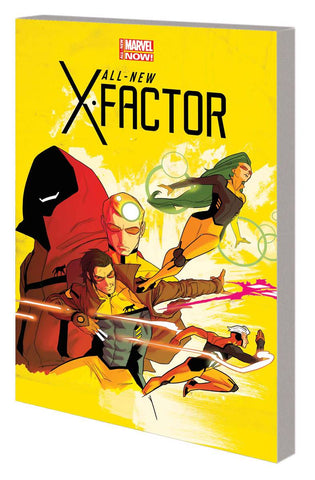 All-New X-Factor TP Vol. 1 Not Brand X, Signed by Peter David