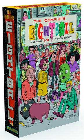 Complete Eightball HC Box Set, signed by Daniel Clowes!