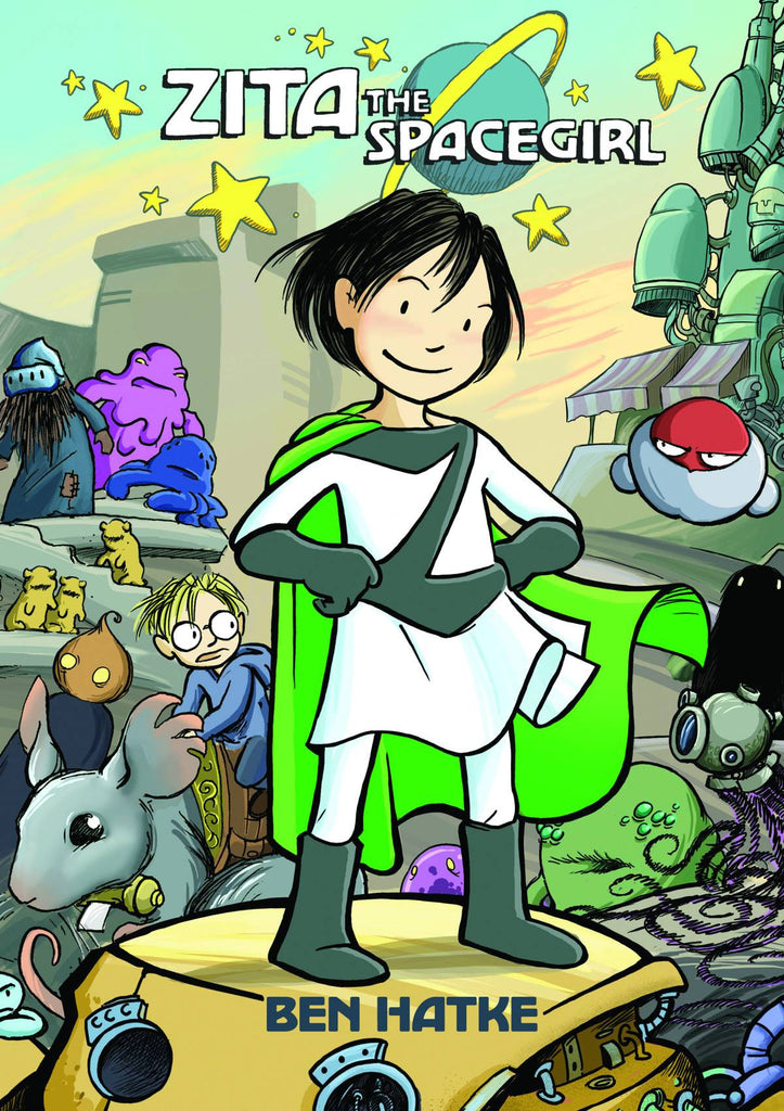 Zita the Spacegirl GN, Signed by Ben Hatke!