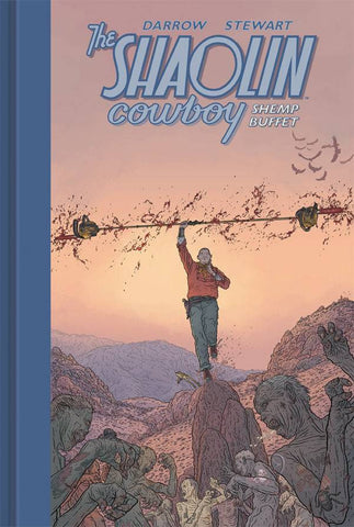 Shaolin Cowboy: Shemp Buffet HC, Signed & Sketched by Geof Darrow!