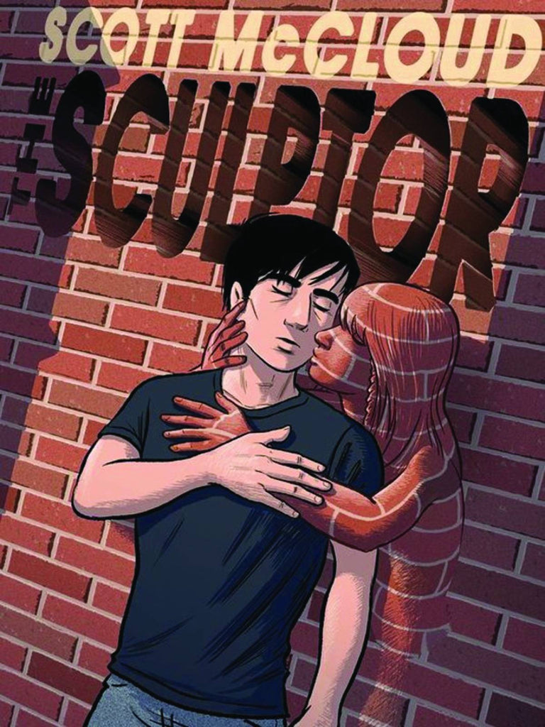 Scott McCloud's The Sculptor SIGNED Promotional Two-Sided Poster