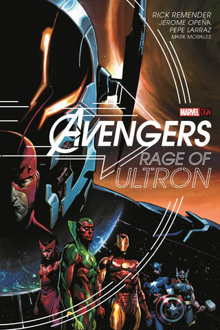 Avengers: Rage of Ultron HC, signed by Rick Remender!