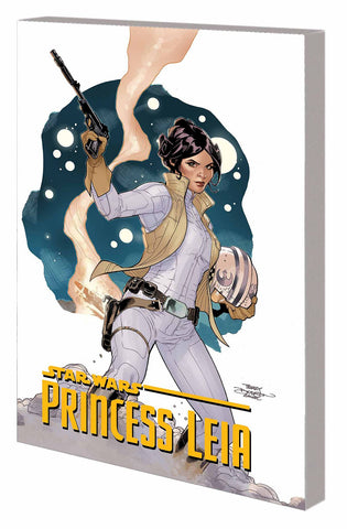 Star Wars: Princess Leia TP, signed by Terry Dodson!
