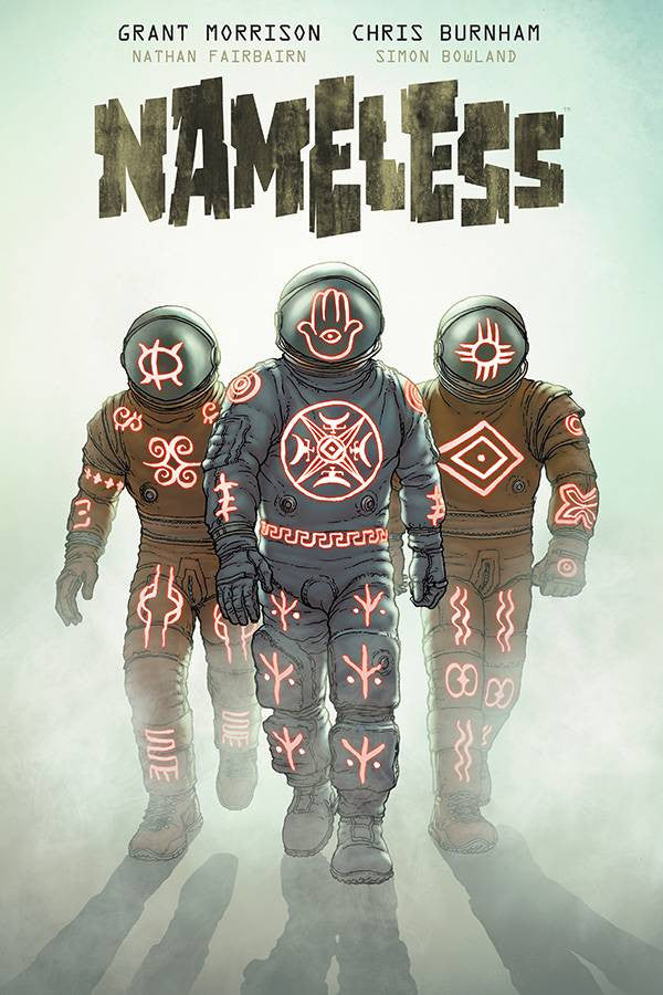 Nameless Deluxe Hardcover, signed by Grant Morrison & Chris Burnham! Exclusive Bookplate Edition!