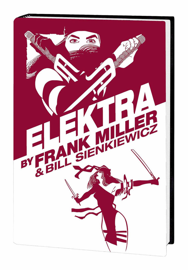 Elektra Omnibus HC signed by Frank Miller, Bill Sienkiewicz, or BOTH!