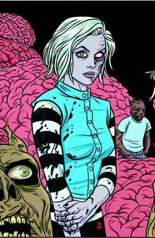 iZOMBIE Omnibus, signed by Mike Allred, Laura Allred, and Chris Roberson!