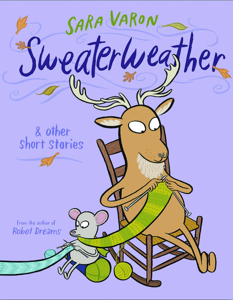 Sweaterweather HC, Signed and Sketched by Sara Varon!