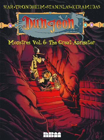 Dungeon Monstres Vol 6: The Great Animator TP, signed by Lewis Trondheim!