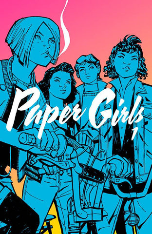 Paper Girls Volume One TP, Signed by Cliff Chiang!