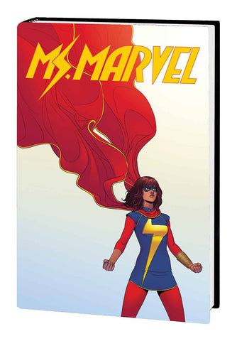 Ms. Marvel Omnibus HC Vol 1, signed by G. Willow Wilson!
