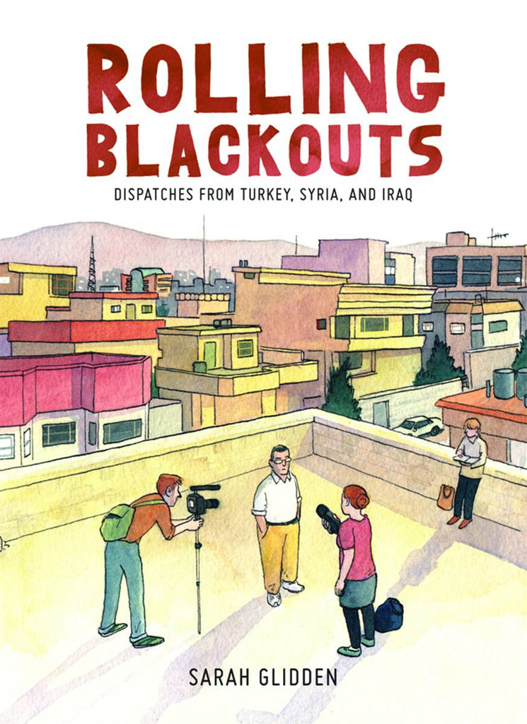Rolling Blackouts HC, signed by Sarah Glidden!