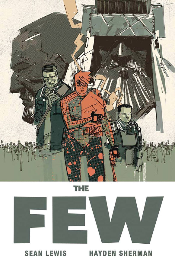 The Few TP, signed by Hayden Sherman!