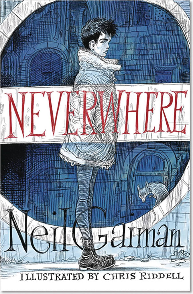 Neverwhere Illustrated Edition HC, signed by Neil Gaiman!