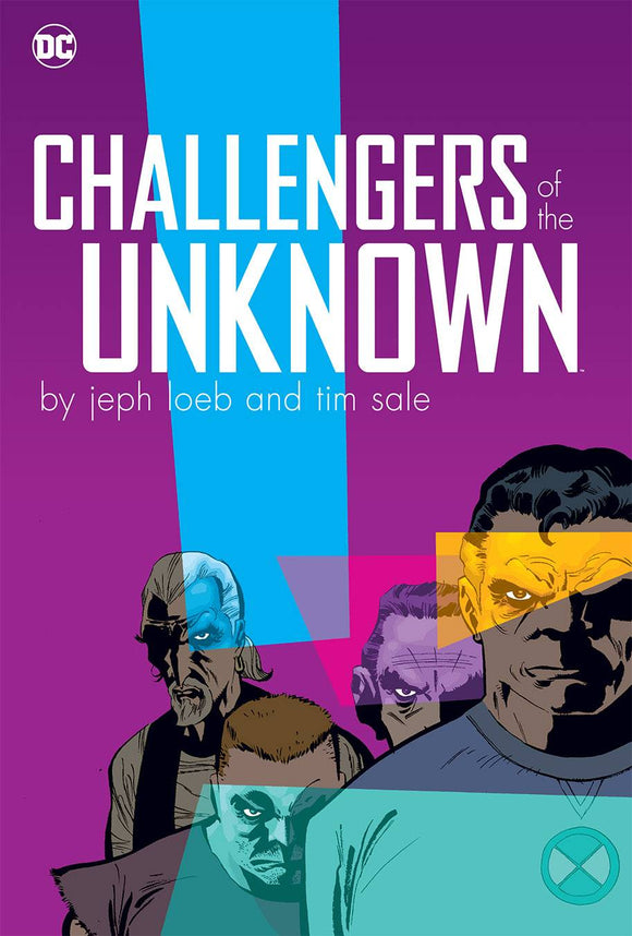 Challengers of the Unknown HC, Signed by Tim Sale!