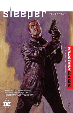 Sleeper Vol 1 TP, signed by Ed Brubaker & Sean Phillips!