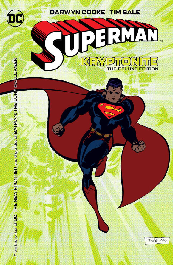 Superman: Kryptonite Deluxe Ed. HC, signed by Tim Sale!