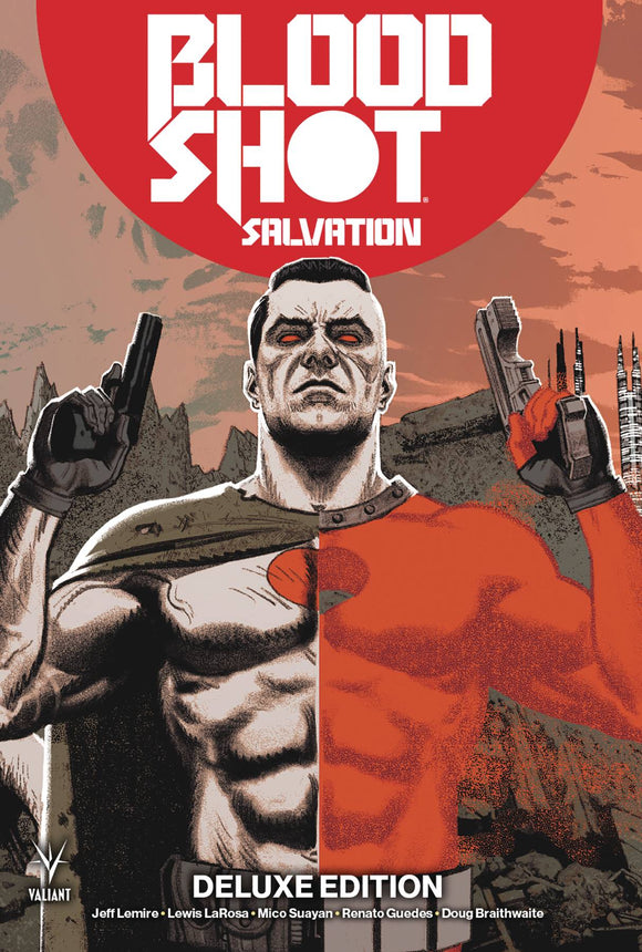 Bloodshot Salvation Deluxe Edition HC, signed by Jeff Lemire!