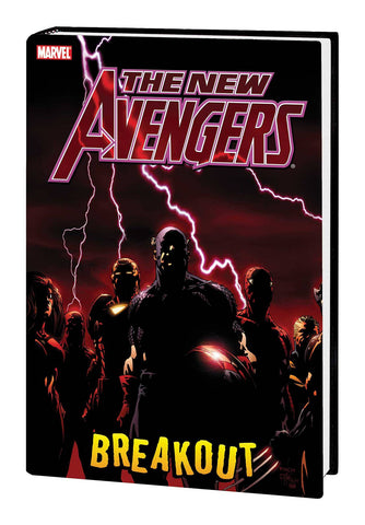 New Avengers: Breakout HC, signed by David Finch!