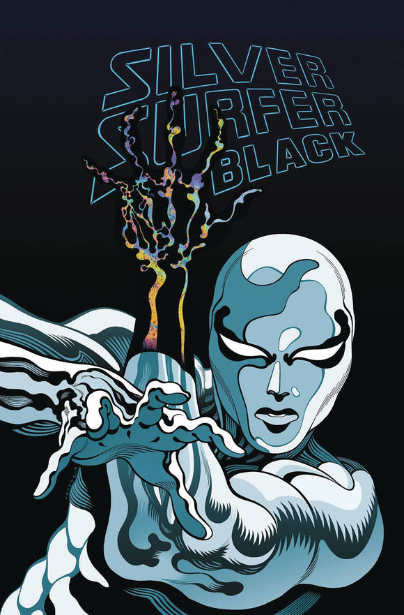 Silver Surfer Black Treasury Edition, signed by Donny Cates!