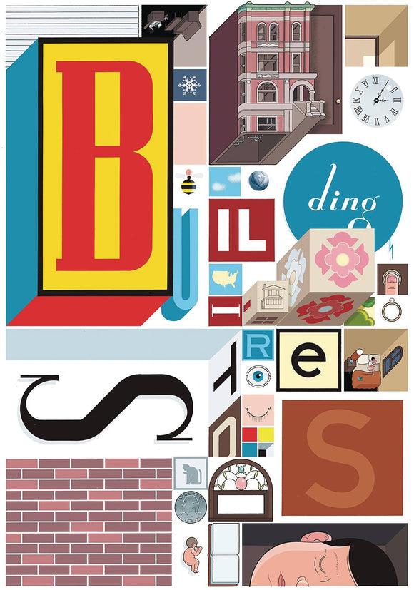 Building Stories HC, Signed by Chris Ware