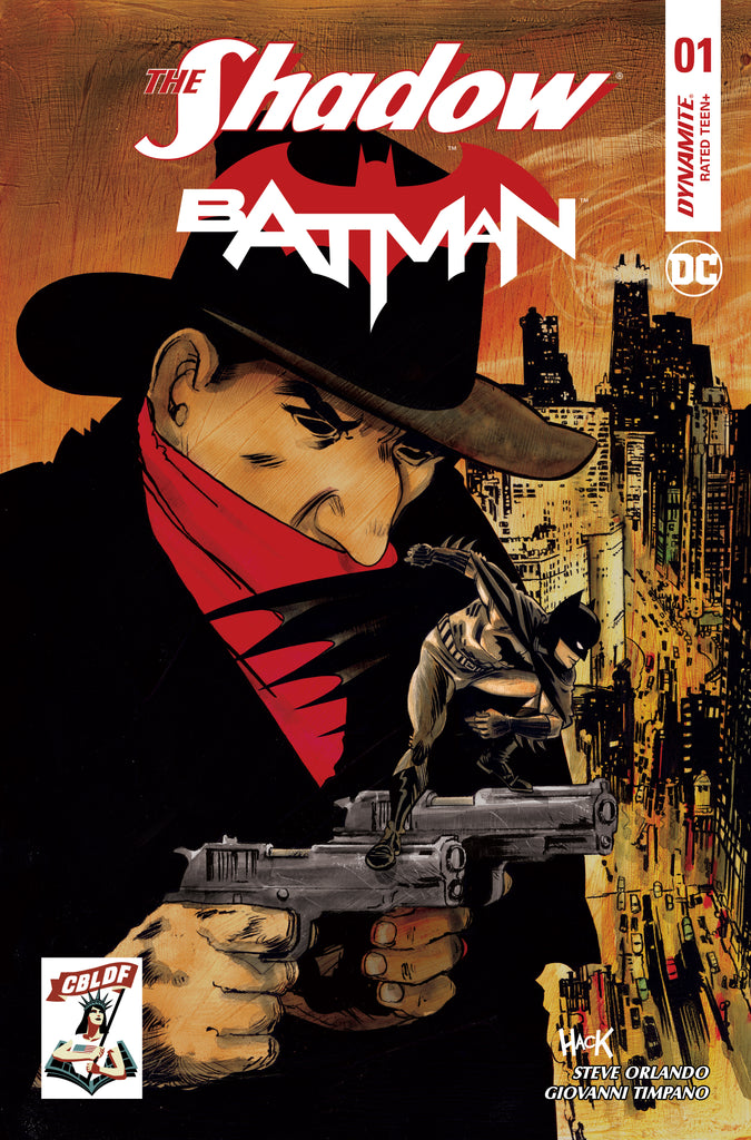 Shadow Batman #1 CBLDF Exclusive Robert Hack Variant Cover!