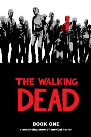 The Walking Dead Vol 1 HC, Signed by Charlie Adlard!