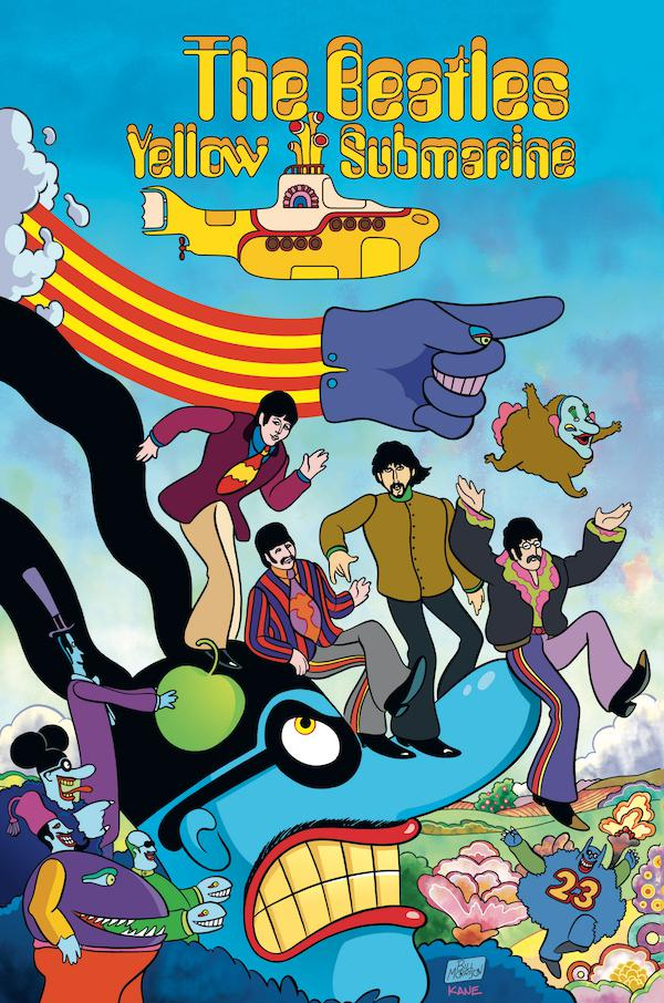 The Beatles: Yellow Submarine HC, signed by Bill Morrison!