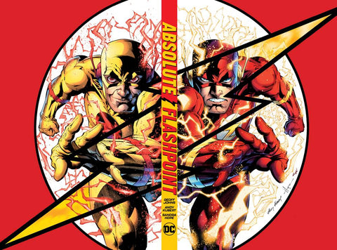 Absolute Flashpoint HC, signed by Geoff Johns!