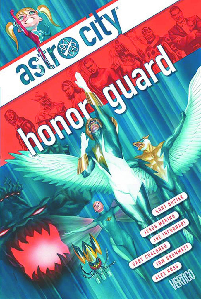 Astro City: Honor Guard HC, signed by Kurt Busiek!