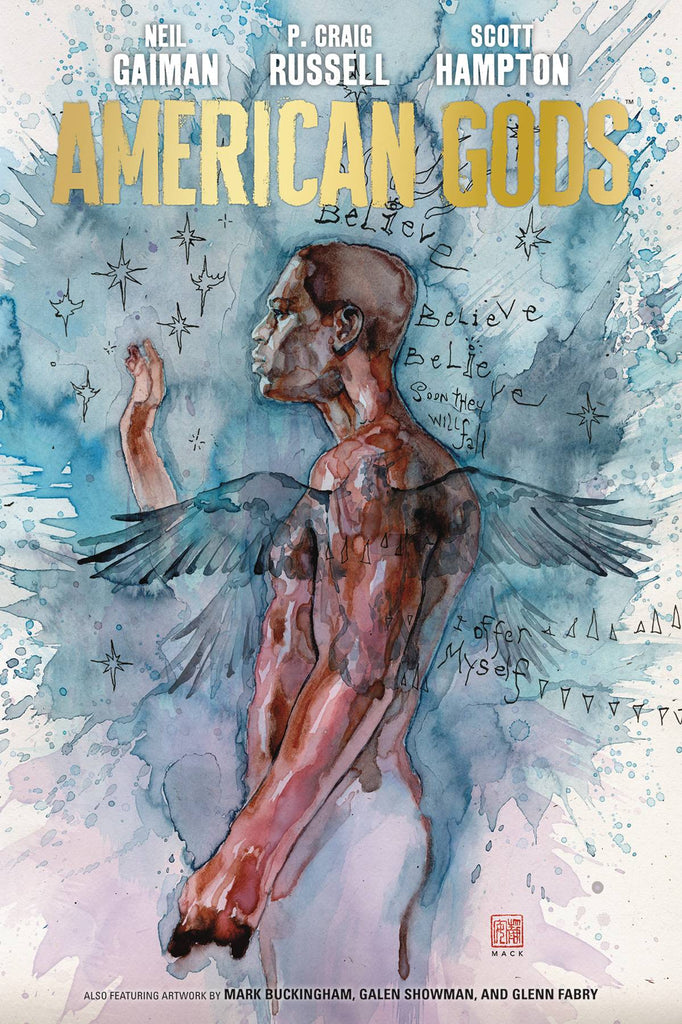 American Gods Vol. 2 HC: My Ainsel Signed By Neil Gaiman!