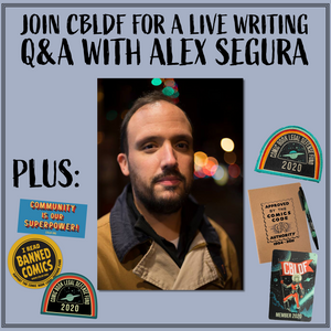 Join CBLDF for a Comic Writing Q&A with Alex Segura!