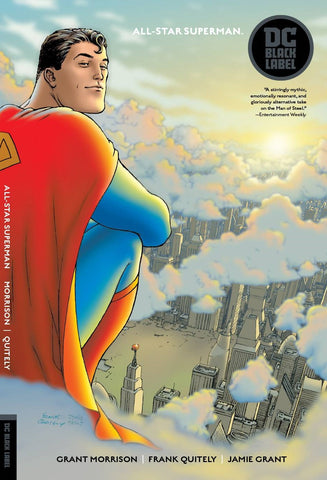 All-Star Superman TP (Black Label), Signed by Frank Quitely!