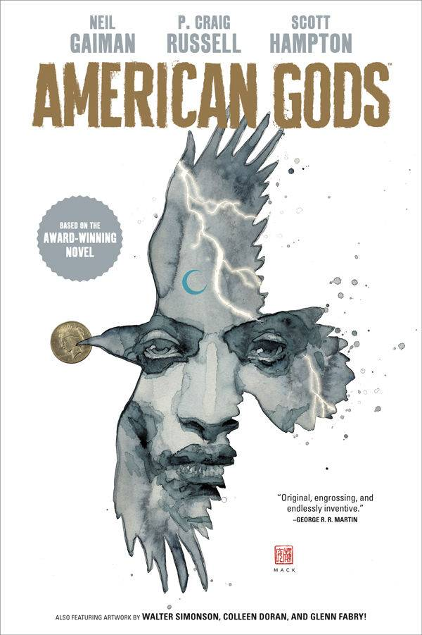 American Gods Vol 1 HC, Signed by Neil Gaiman!