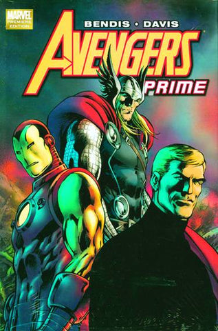 Avengers Prime HC, signed by Alan Davis!