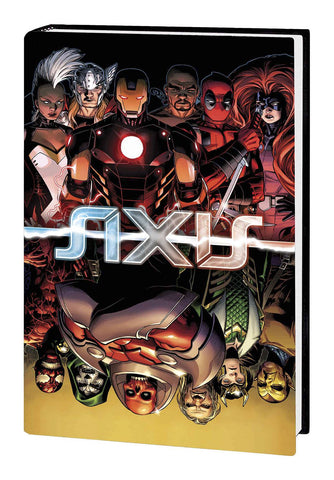 Avengers & X-Men: AXIS HC, signed by Rick Remender or Terry Dodson!