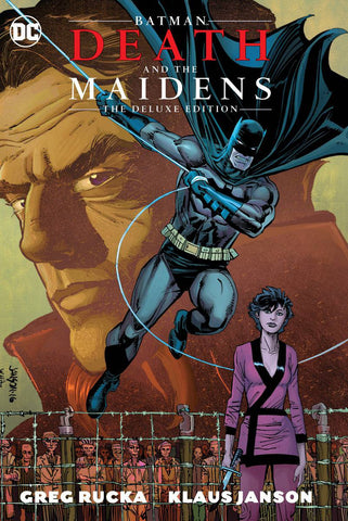 Batman: Death & the Maidens Deluxe Edition HC, signed by Greg Rucka & Klaus Janson!