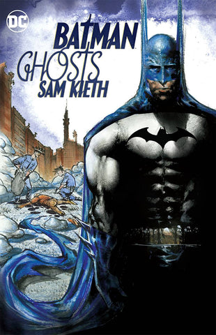 Batman: Ghosts TP, signed by Sam Kieth!