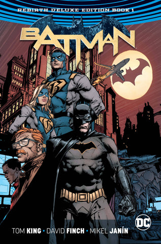 Batman: Rebirth Vol 1 Dlx HC, signed by Tom King!