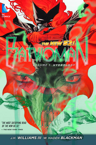 Batwoman: Hydrology Vol 1 HC, signed by J.H. Williams III!