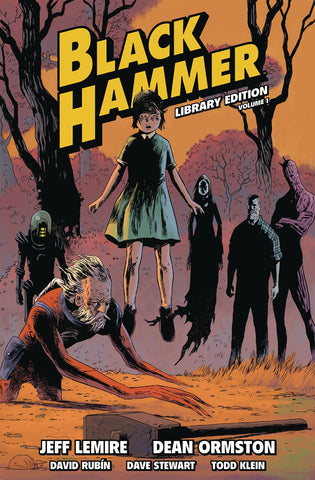 Black Hammer Library Ed Vol 1 HC, PERSONALIZED by Jeff Lemire!
