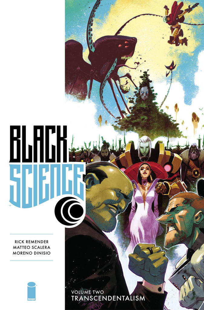 Black Science Vol 2 Premiere HC, signed by Rick Remender & Matteo Scalera!