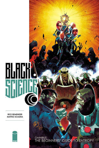 Black Science Vol 1 Premiere HC, signed by Rick Remender & Matteo Scalera!