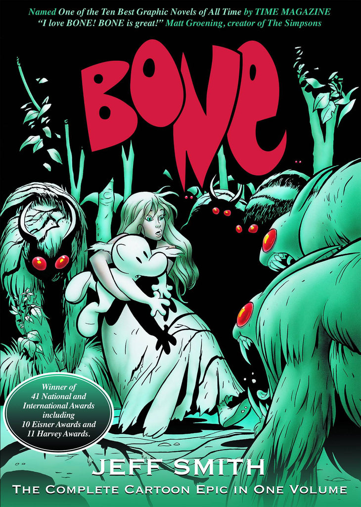 Bone: One Volume GN, signed & sketched by Jeff Smith!