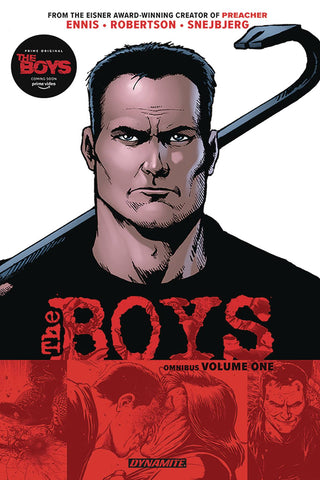 The Boys Volume One Omnibus, PERSONALIZED by Garth Ennis!