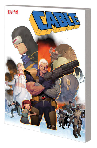Cable TP Vol 1, signed by Duane Swierczynski!