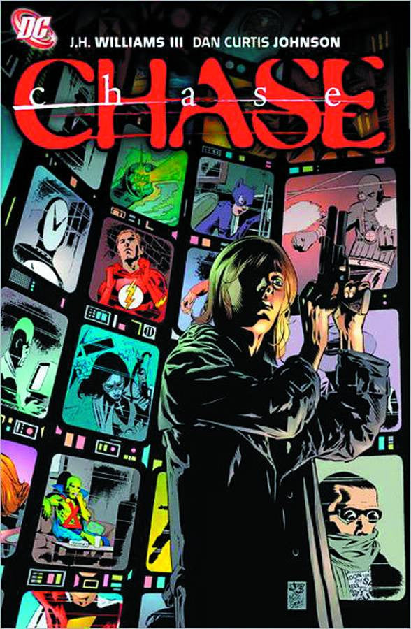 CHASE TP, signed by J.H. Williams III!