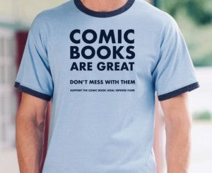 Comic Books Are Great T-Shirt